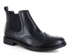 Pánská kotníčková obuv DENVER 9003 NERO