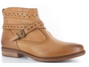 Dámská kotníčková obuv ELLEN BLAKE 2562 COGNAC
