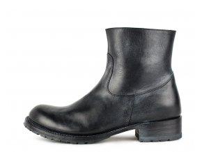 Pánské kotníčkové boty SENDRA 9491 LIGHTING MEMORY NEGRO