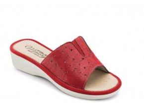Dámská domácí obuv TIGLIO 1685 ROSSO