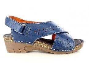 Dámské sandály MARY SOFT 887 COBALTO