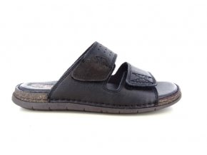Pánské letní pantofle ZEN 8144 NERO/EBONY