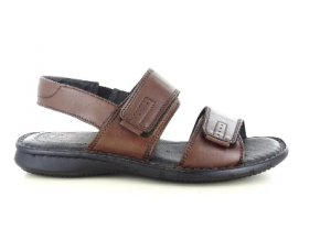 Pánské letní sandály ZEN 6756 MARRONE