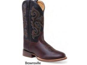 Jama Old West Boots 5706 BRONSWILLE pánská westernová obuv