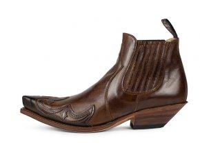 Pánská westernová obuv SENDRA 8024 CUERVO SNOWBUT064/007