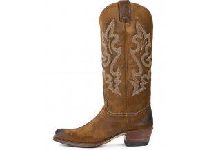 Dámská westernová obuv SENDRA 8535 DIERLY SERR.209 TABACCO U/N