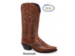 Jama Old West LF1599E VENOMVALE TMC dámská westernová obuv