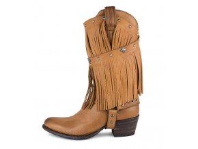 Dámská westernová obuv SENDRA 11459 SALVAJE MIELE U/M MELT.200