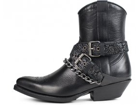 Dámská westernová obuv SENDRA 17366 WAKO SALVAJE NEGRO