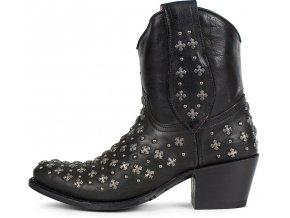 Dámská westernová obuv SENDRA 10143 SARAH USA SKIPPER NEGRO