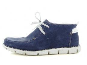 Pánské kotníčkové boty ZEN 8446 FLAG/AVORIO