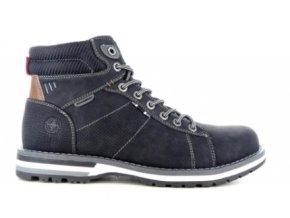 Pánské zimní kotníkové boty RHAPSODY 20A376M BLACK