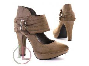 JUMEX 9730 BEIGE obuv dámská