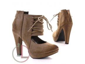JUMEX 9731 BEIGE obuv dámská
