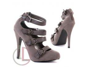 SHOES  WORLD SDS6656 GREY obuv dámská