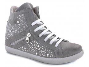 Dámské boty SNEAKERS  KIOSS168-GRIGIO