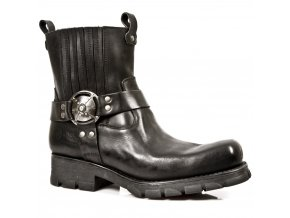 BOTY NEW ROCK M.7605-S1 MOTORCYCLE BOOTS , 2015