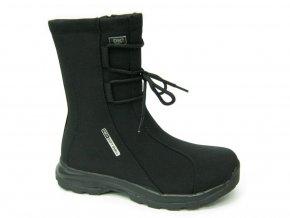 Dámská zimní obuv DK SNOWBEST 2 BLACK