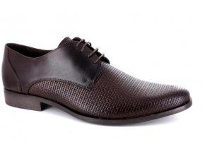 Pánské společenské boty BENSON 90236 T.MORO