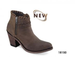 Westernové boty Jama Old West 18150 Brown