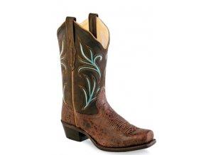 Jama Old West 18010E dámská westernová obuv