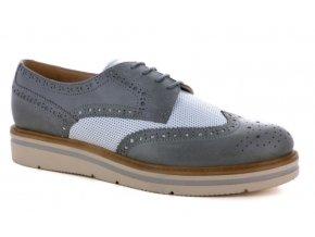 Jarní dámská obuv ELLEN BLAKE 5611 AVIO/BIANCO