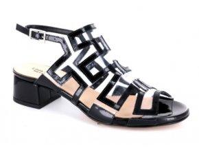 Dámské letní sandály LINEA UNO 245 NERO