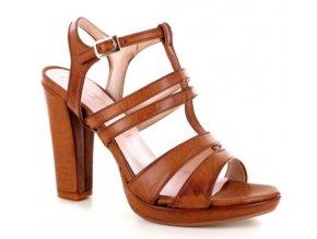 Dámské letní sandály FERRANTE ALICE1 COGNAC