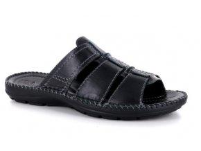 Pánské letní pantofle GEMINI 00226 NERO
