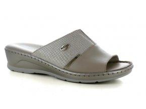 Dámské kožené pantofle FLORANCE 22506PI CORDA