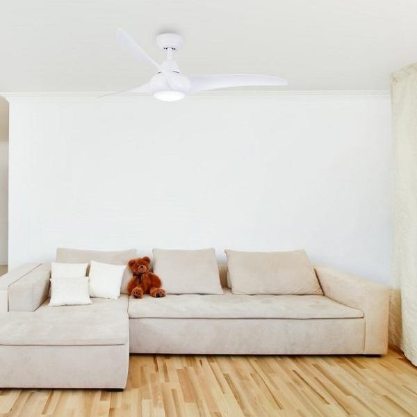 Výhody a nevýhody stropních ventilátorů