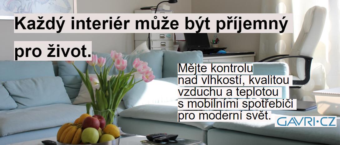 Gavri - každý interiér může být příjemný pro život