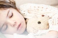 Ložnice, dítě, spánek, ticho