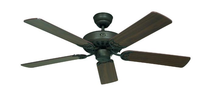 Stropní ventilátor CasaFan Classic Royal 103/132 cm v barevné variantě ořech - hnědá