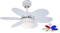 Domácí stropní ventilátor značky Sulion Rainbow LED 075008