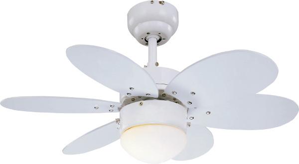 Stropní ventilátor s LED světlem Sulion 075008 Rainbow LED