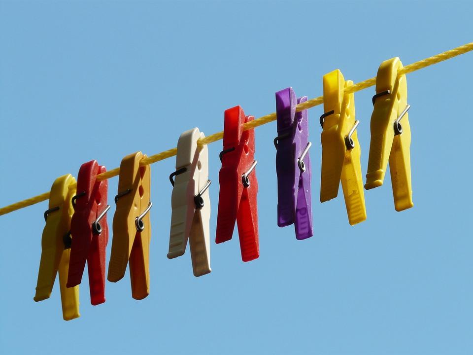 sušení prádla