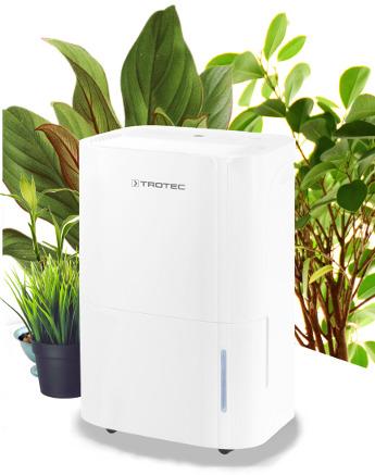 Odvlhčovač vzduchu Trotec TTK 66 E s ionizací vzduchu pomůže zbavit váš byt plísní.