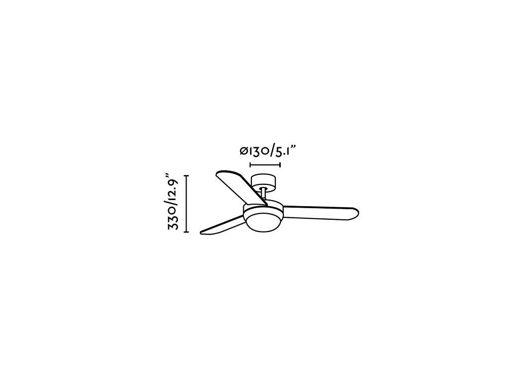 Schéma stropní ventilátor faro 33600 feroe