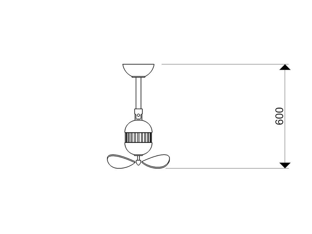 Schéma stropní ventilátor aireryder fn11156 toledo