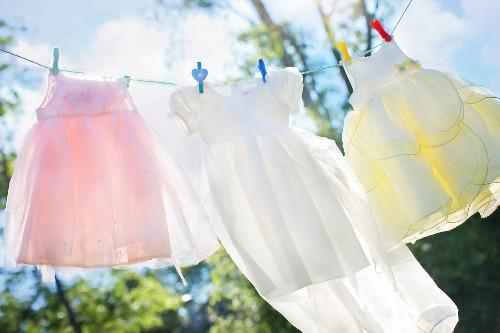 Sušení prádla v bytě v zimě