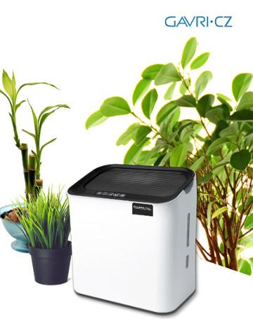 Comedes Hildegard LW 360 je moderní zvlhčovač vzduchu s přirozeným odparem a dvojicí vzduchových filtrů: HEPA a uhlíkovým.