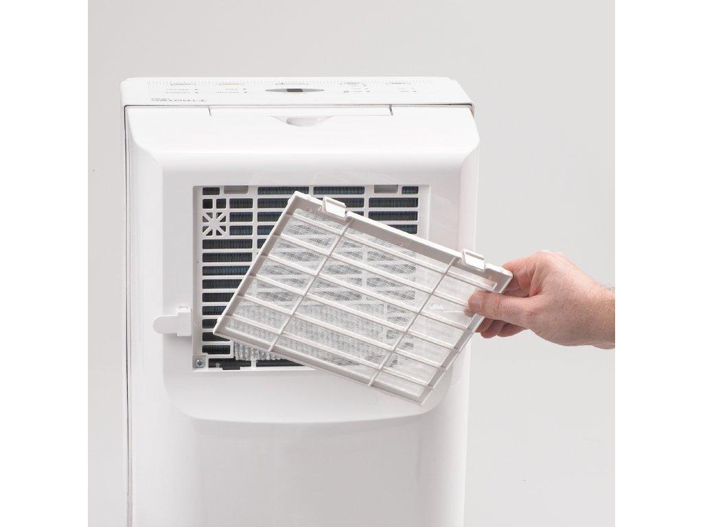 Odvlhčovač vzduchu připojte k odtoku