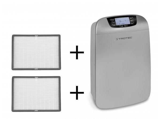Odvlhčovač vzduchu Trotec TTK 110 HEPA + 2x náhradní HEPA filtr  Sušička prádla