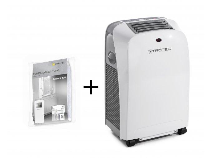 Mobilni klimatizace Trotec PAC 2600 S s tesnenim airlock 100
