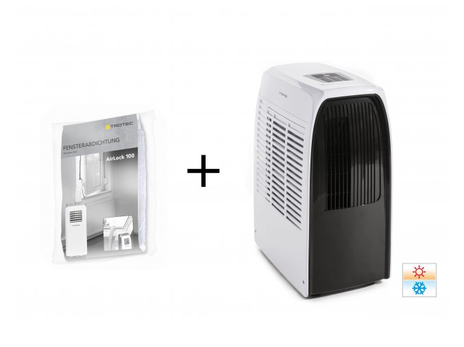 mobilni klimatizace PAC 2000 X s tesnenim oken v cene