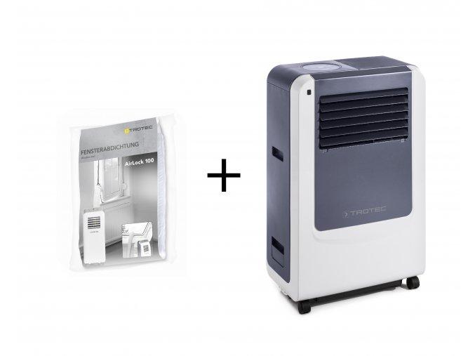 mobilni klimatizace PAC 3500 X plus těsnění oken pro mobilní klimatizace