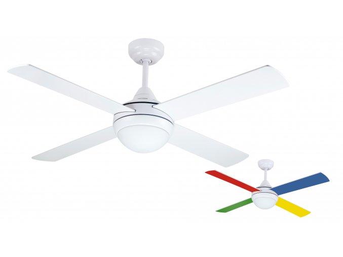 Stropní ventilátor Sulion 075661 NAIF oboustranné lopatky