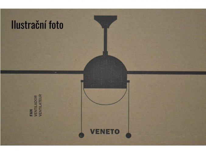 FARO 33319 VENETO, cedr nebo buk/matný nikl, stropní ventilátor se světlem  řetízkové ovládání, dálkové ovládání lze dokoupit