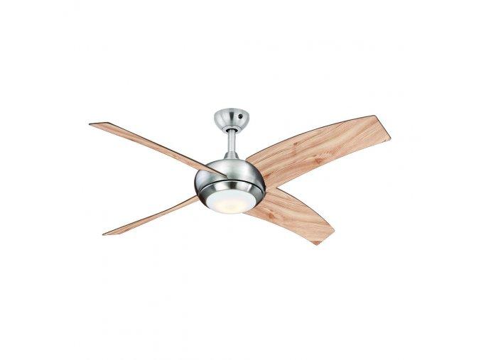 Stropní ventilátor se světlem AireRyder FN66635 BOREALIS, borovice